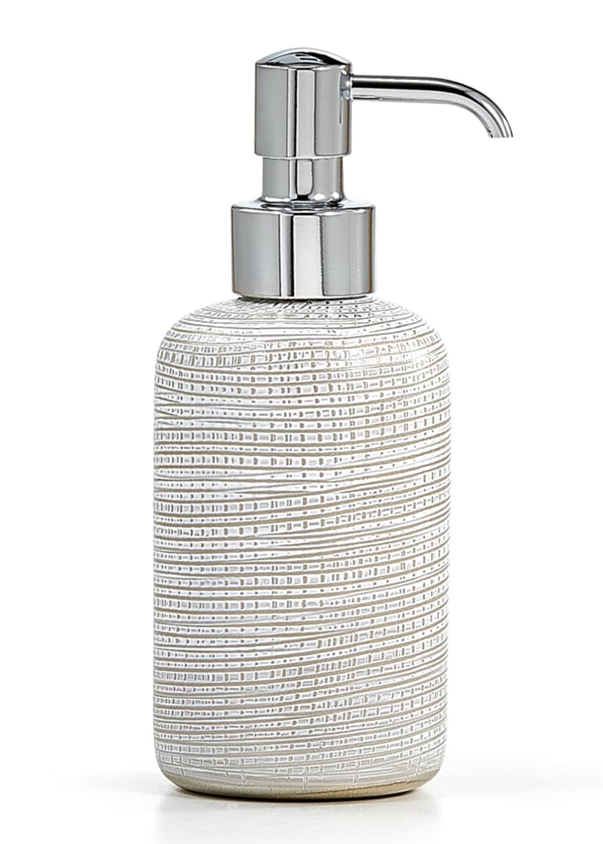 Labrazel Woven Pump Dispenser, Platinum
