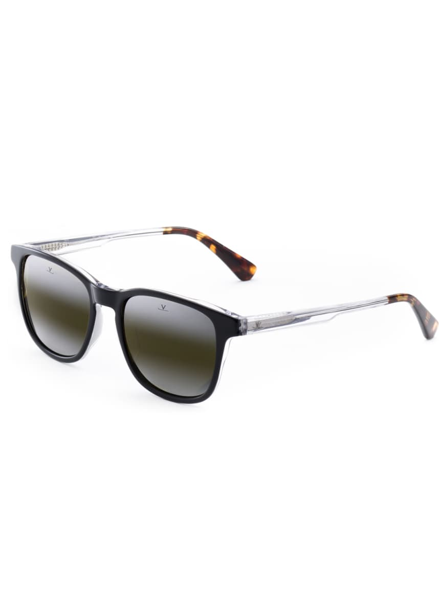 Vuarnet Men's District Medium Square Acetate Sunglasses