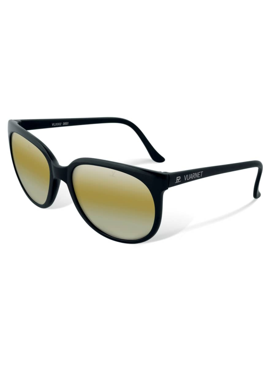 Vuarnet Men's Legend 02 Round Nylon Sunglasses