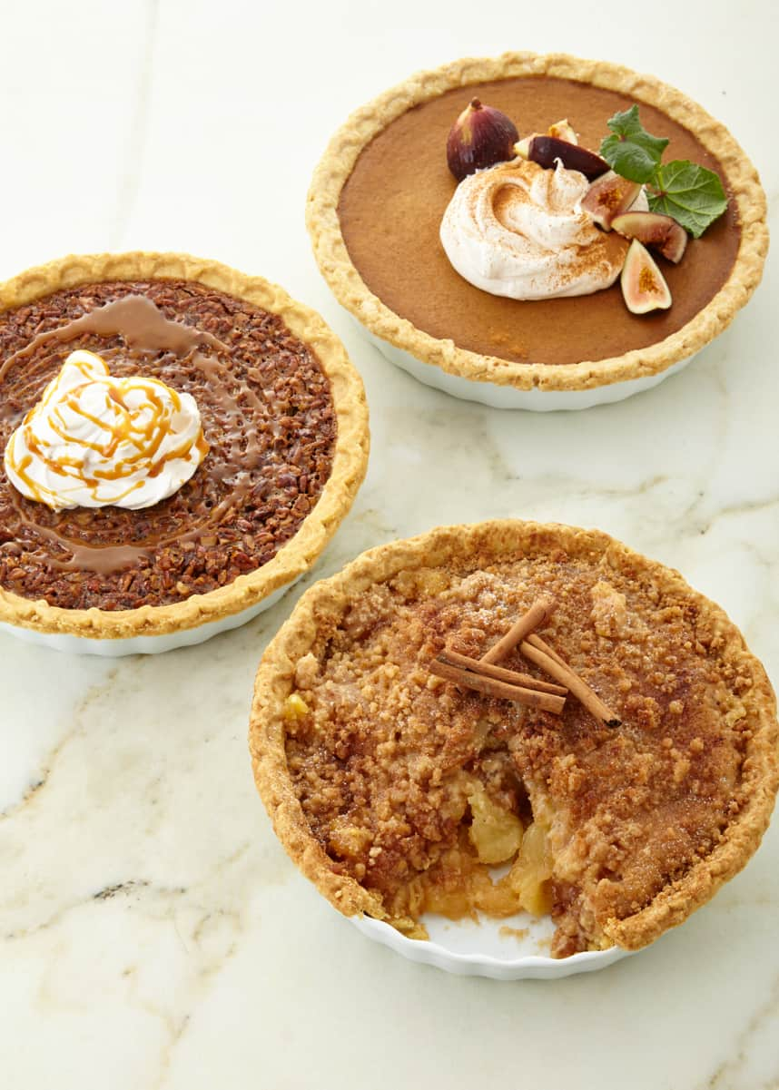 Tootie Pie Company Holiday Pies, Set of 3