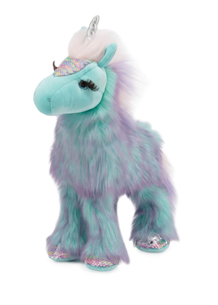 Douglas Veda the Unicorn Fuzzle Stuffed Animal