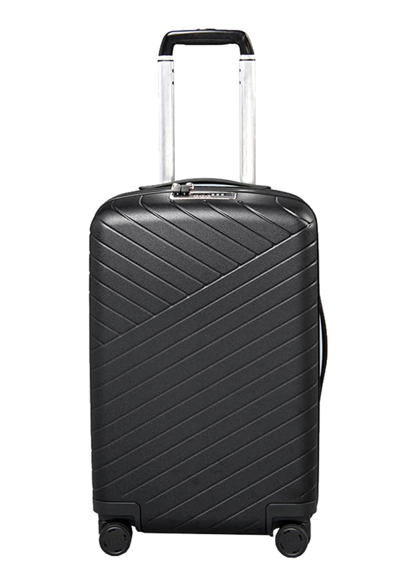 "OOO Traveling Expandable 22"" Carry-On Spinner Luggage w/ Removable Battery"