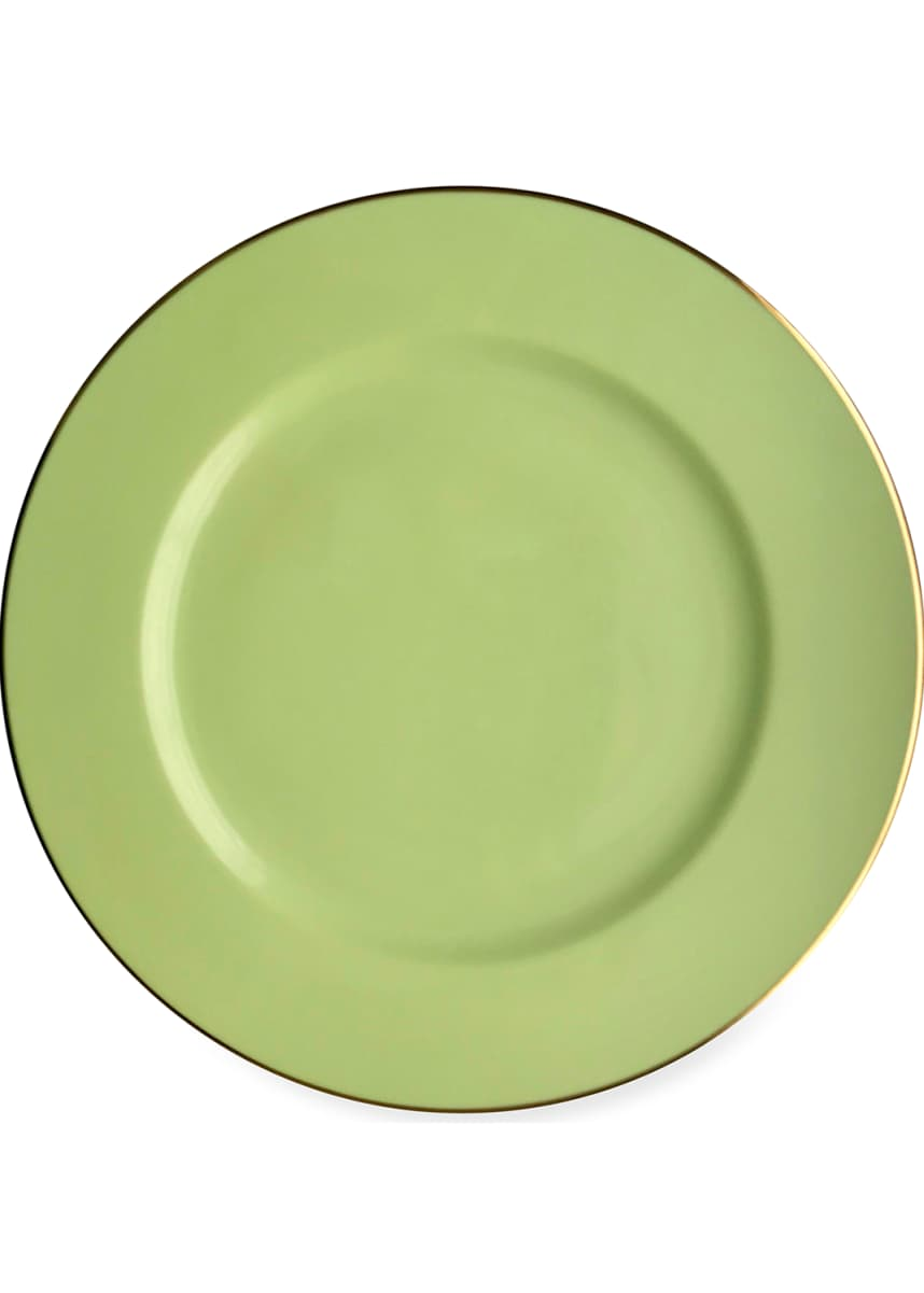 Anna Weatherly Charger, Light Green