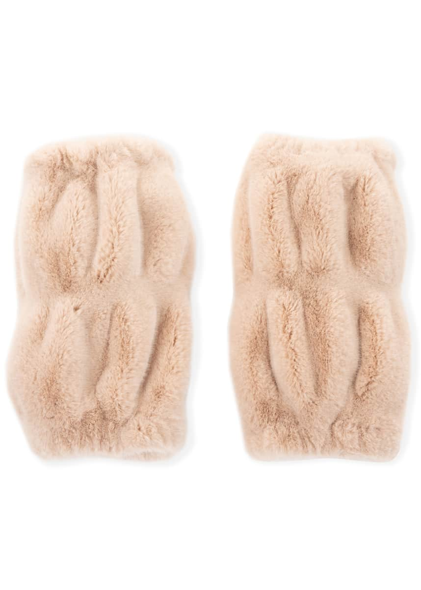 Fabulous Furs Kid's Couture Faux-Fur Leg Warmers