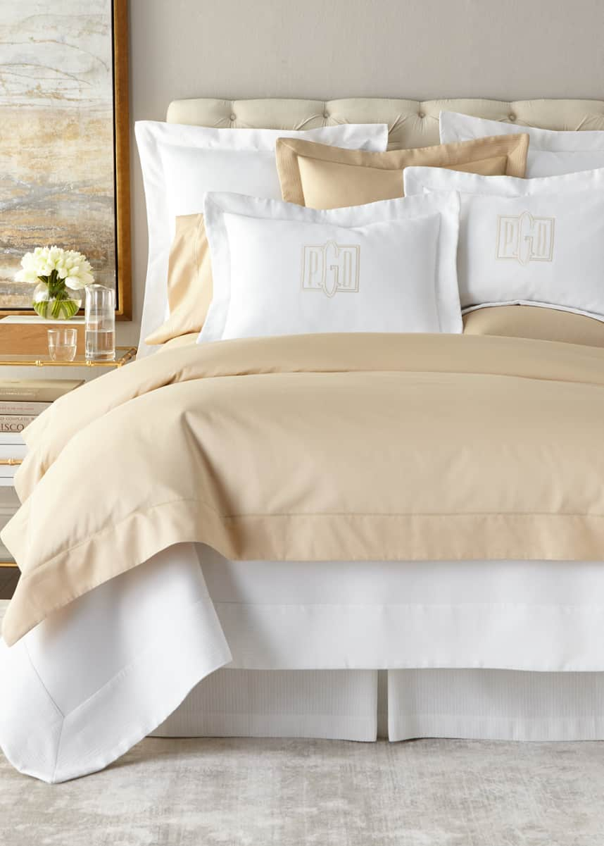 Peacock Alley Full/Queen Soprano 420 Thread Count Duvet Cover Twin Sophia 420 Thread Count Duvet Cover European Sophia 420 Thread Count Sham