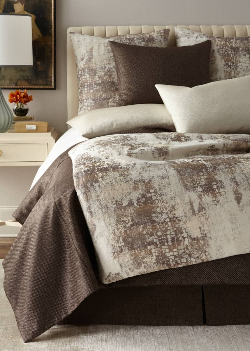 Fino Lino Linen & Lace King Soho Coverlet Queen Soho Coverlet King Soho Coverlet