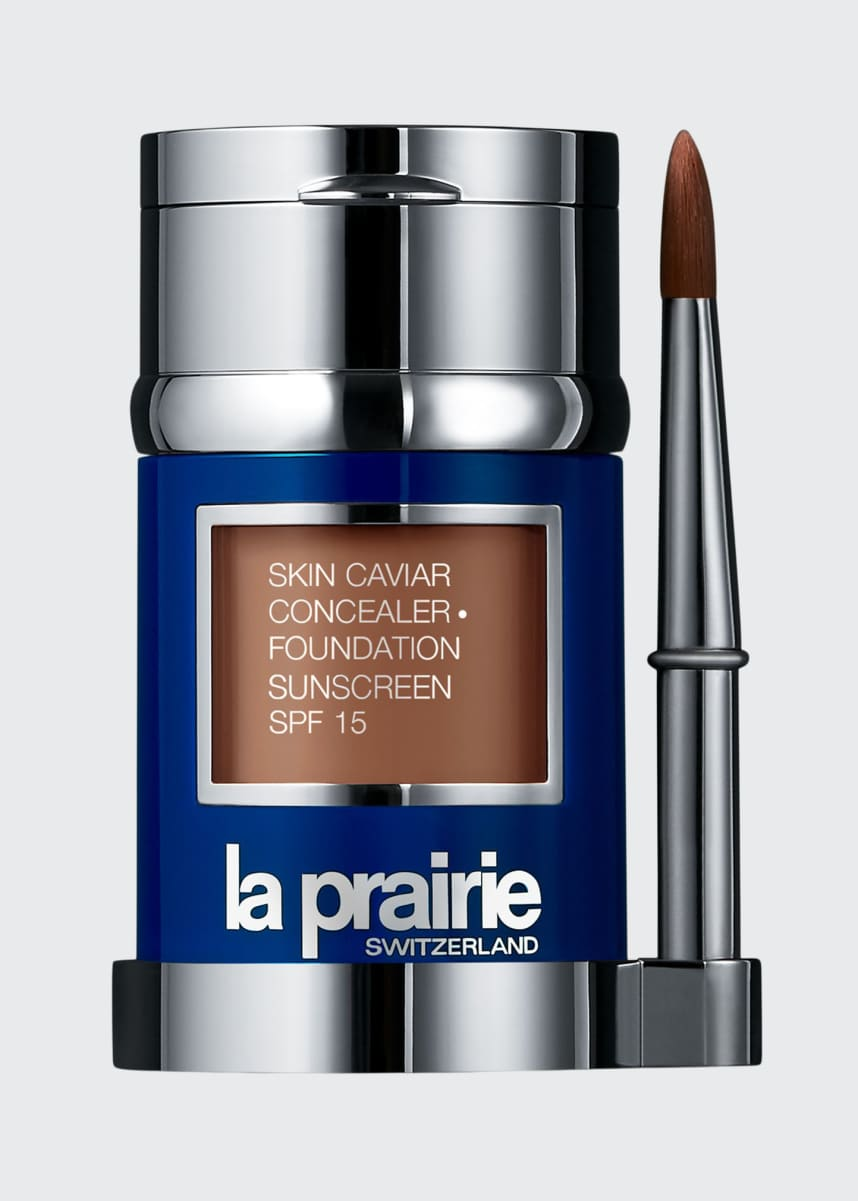La Prairie Skin Caviar Concealer and Foundation Sunscreen SPF 15, 1.0 oz./ 30 mL