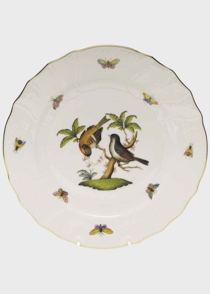 Herend Rothschild Bird Dinner Plate #12
