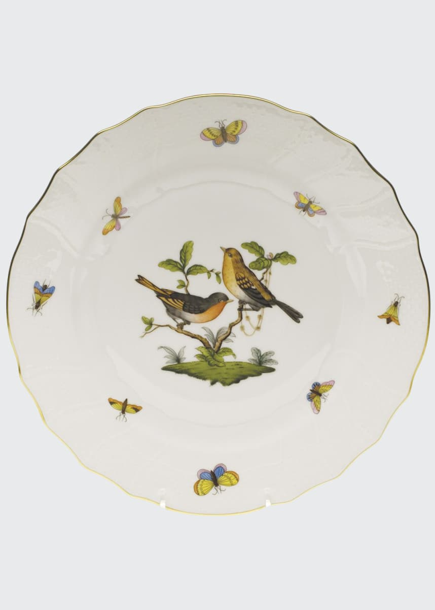 Herend Rothschild Bird Dinner Plate #9