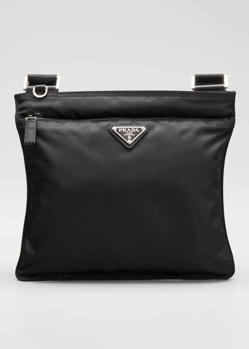 Prada Small Nylon Crossbody Bag