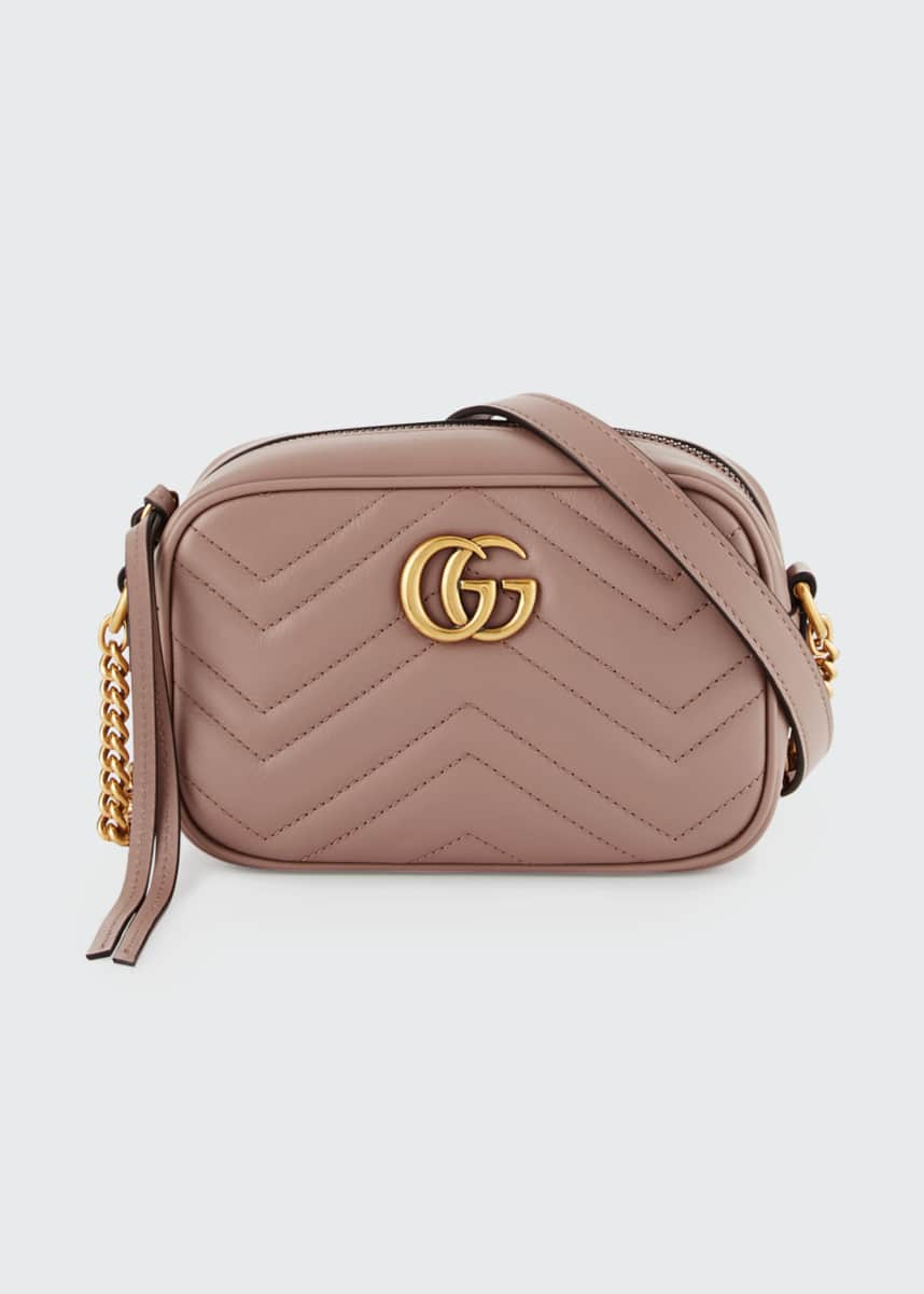 Gucci GG Marmont Mini Matelasse Camera Bag