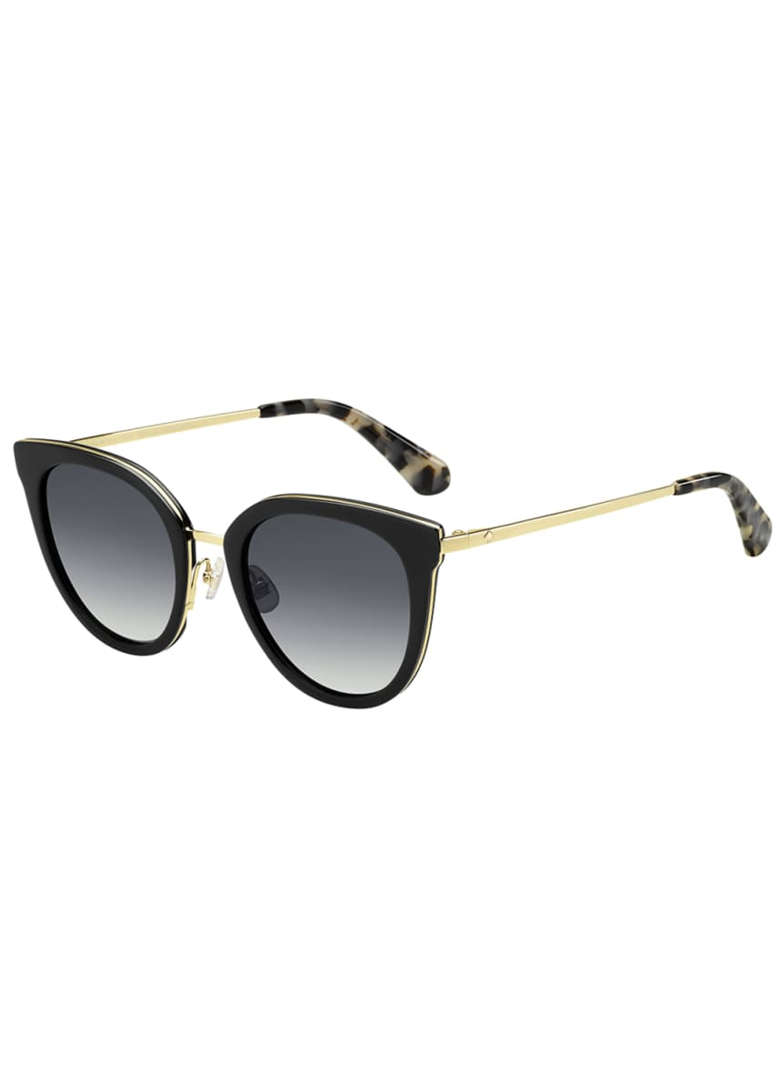 kate spade new york jazzlyn cat-eye sunglasses