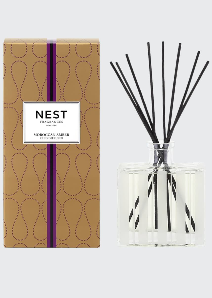 Nest Fragrances Moroccan Amber Reed Diffuser, 5.9 oz./ 175 mL