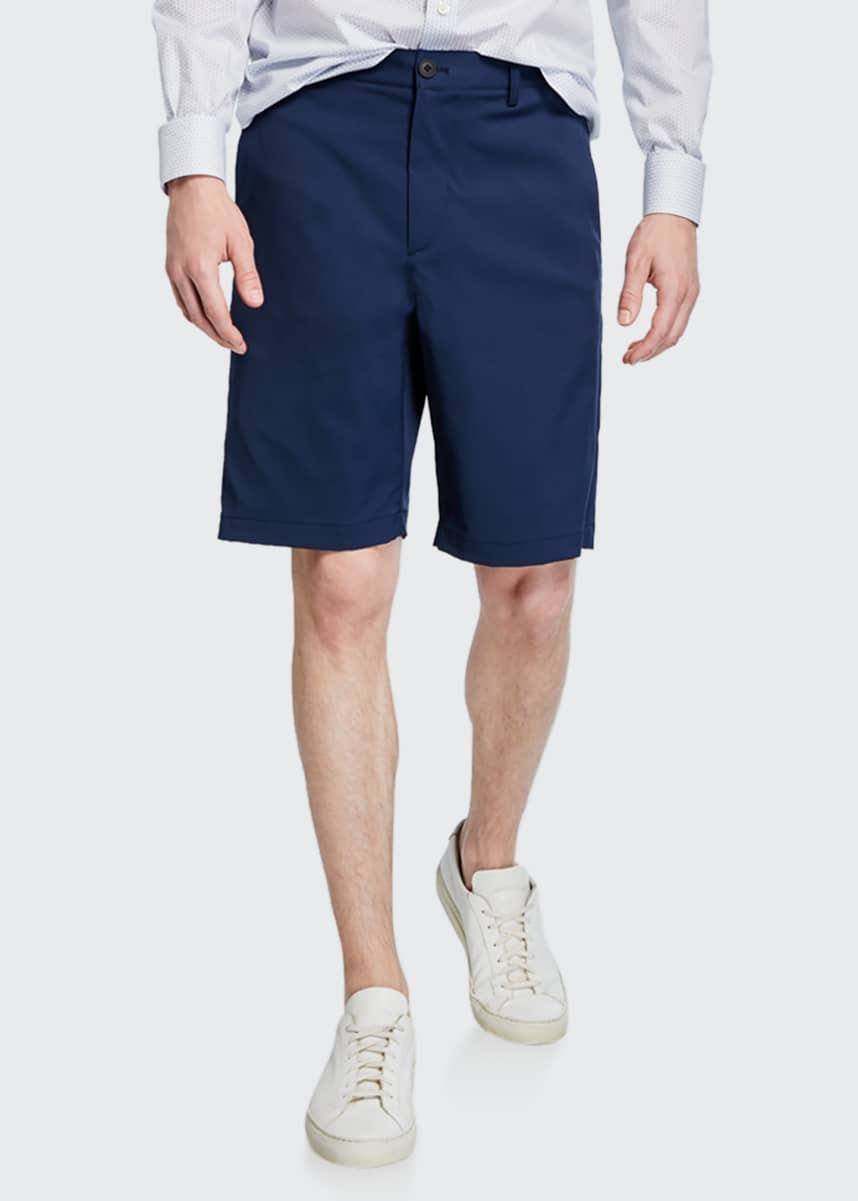 Theory Men's Zaine SW Neoteric Slim-Fit Shorts
