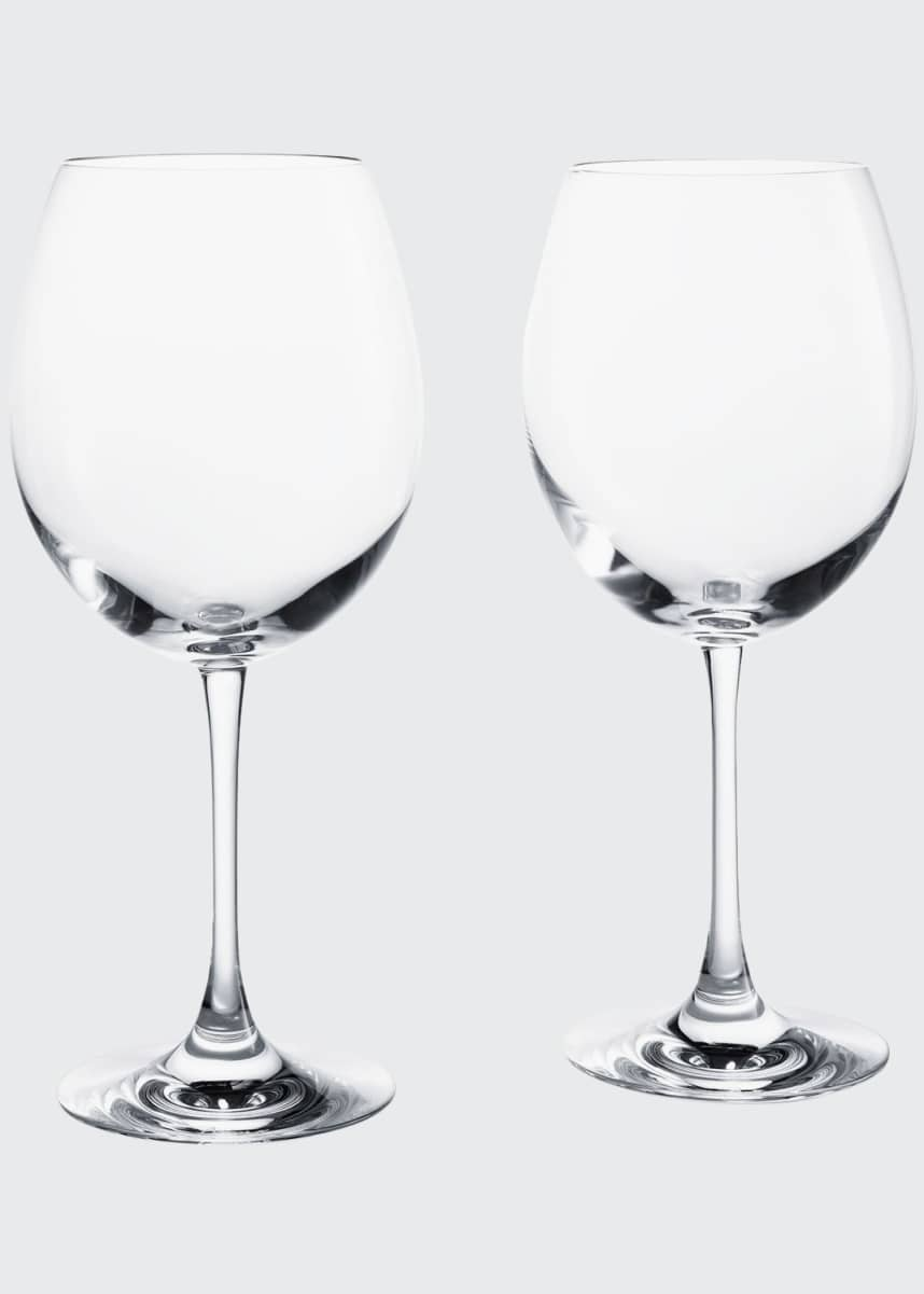 Baccarat Grand Bordeaux Glasses, Set of 2