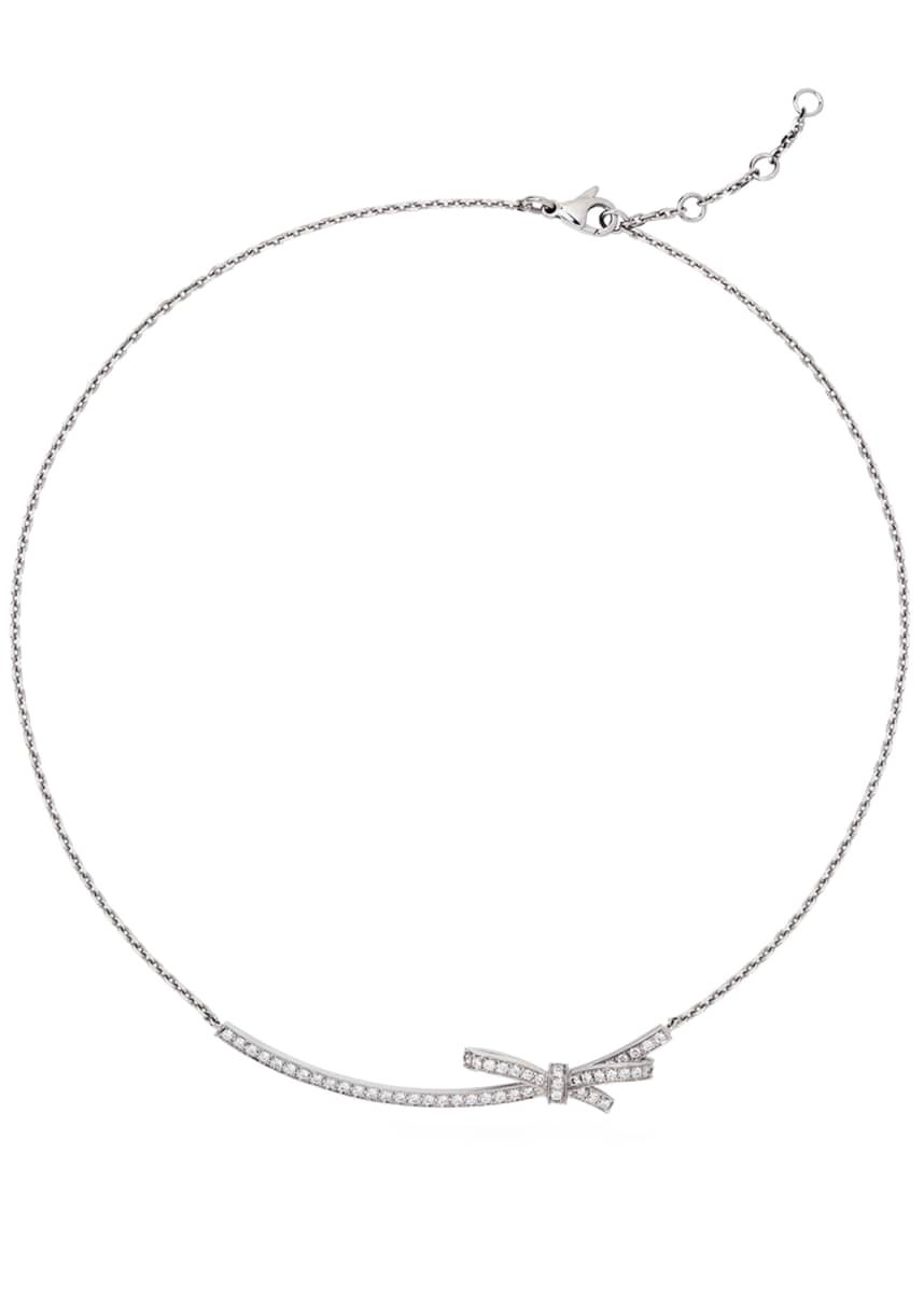 CHANEL Ruban Couture Necklace with Diamonds