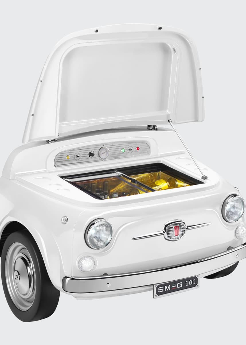 Smeg FIAT X SMEG White Electric Cooler