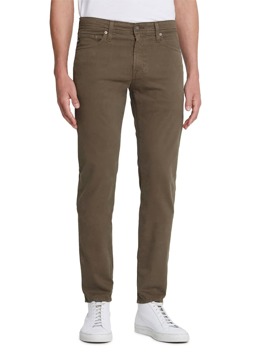 AG Adriano Goldschmied Men's Tellis Modern Slim Sud Twill Pants