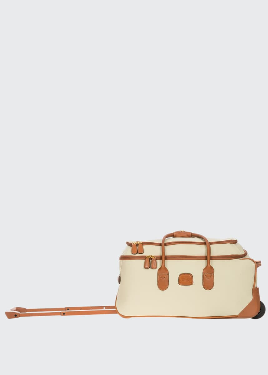 "Bric's Firenze 21"" Carry-On Rolling Duffle Luggage"