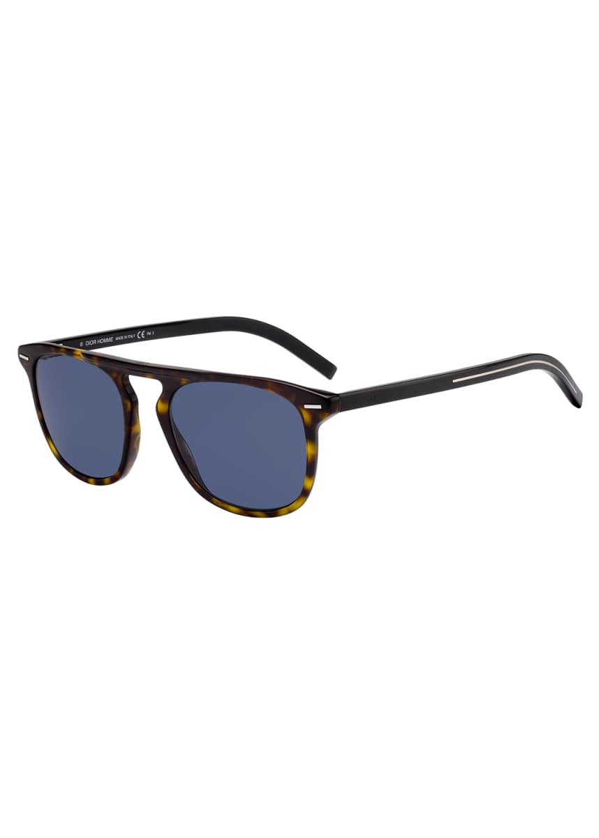 Dior Men's BLACK249S Square Sunglasses