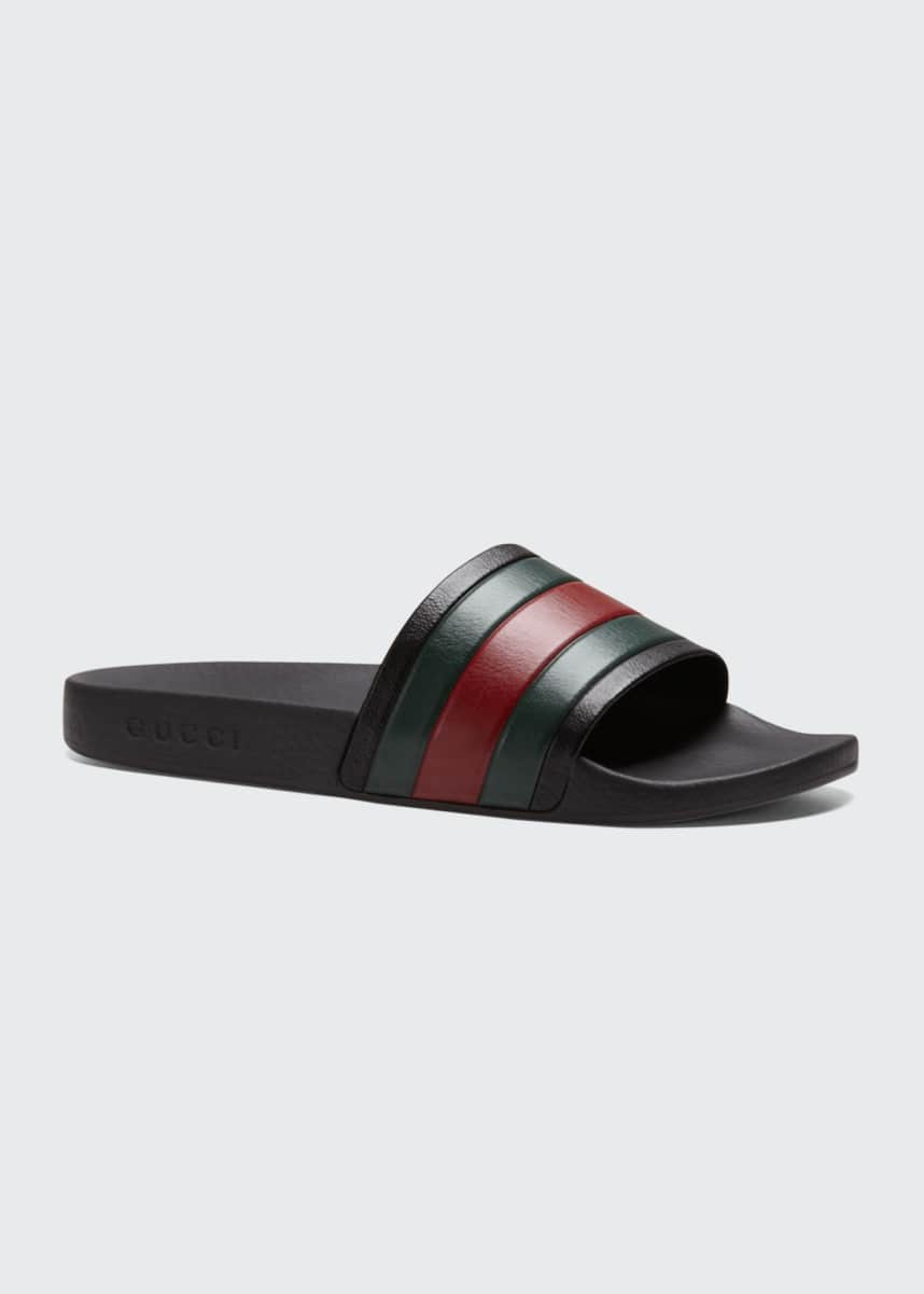 Gucci Pursuit '72 Rubber Slide Sandals