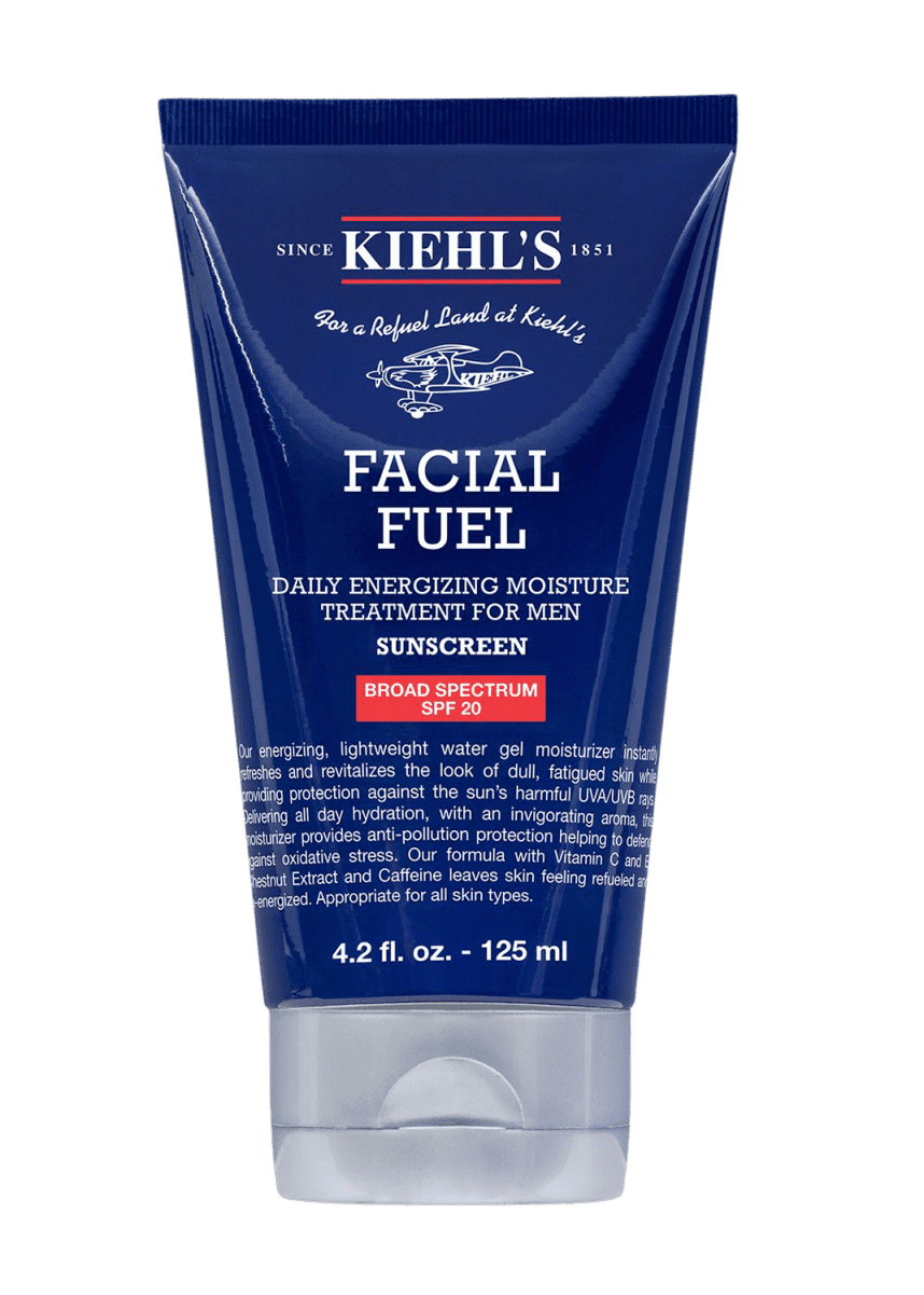 Kiehl's Since 1851 Facial Fuel Daily Energizing Moisture Treatment for Men SPF 20, 4.2 oz./ 125 mL
