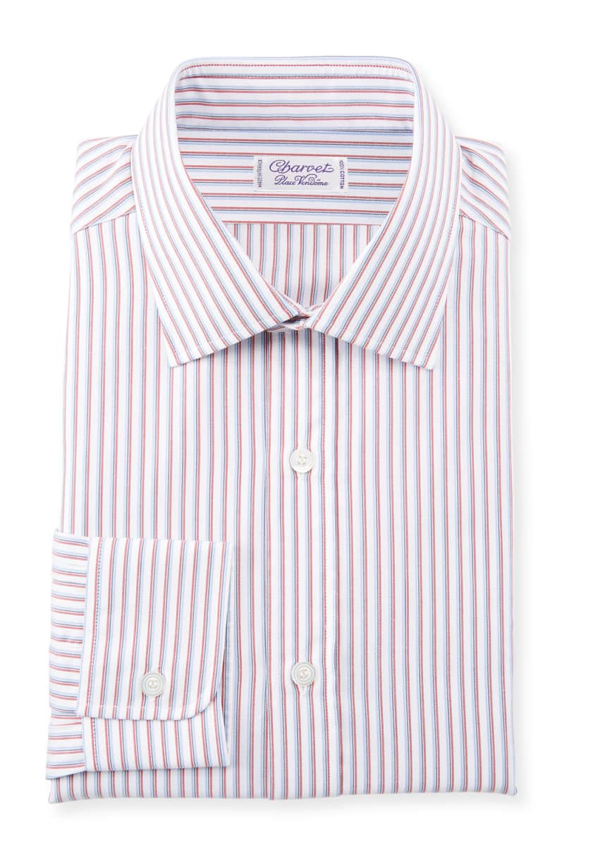 Charvet SLIM MULTI STRIPES