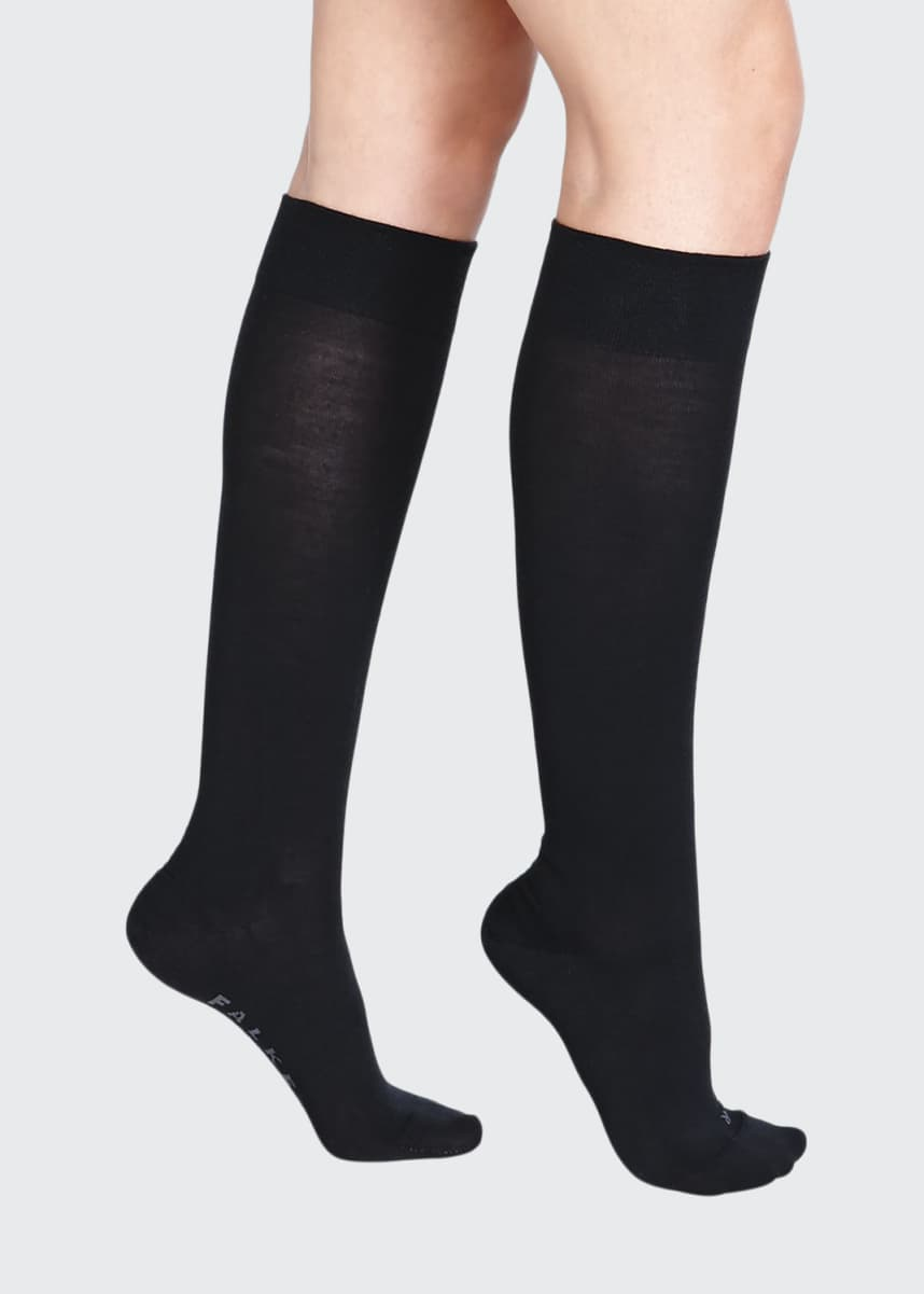 Falke Textured-Band Knee Sock