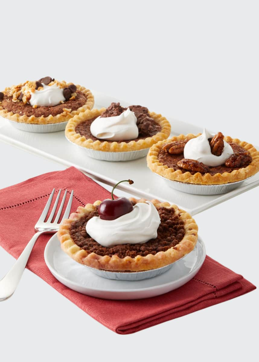 Tootie Pie Company Chocolate Lovers Pies, Set of 4