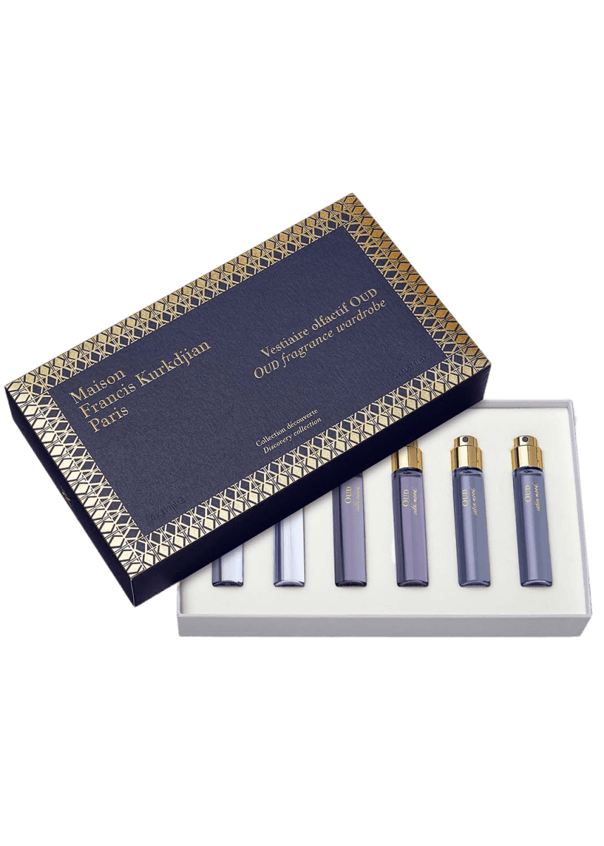 Maison Francis Kurkdjian OUD Fragrance Wardrobe Discovery collection, 6 x 11 mL