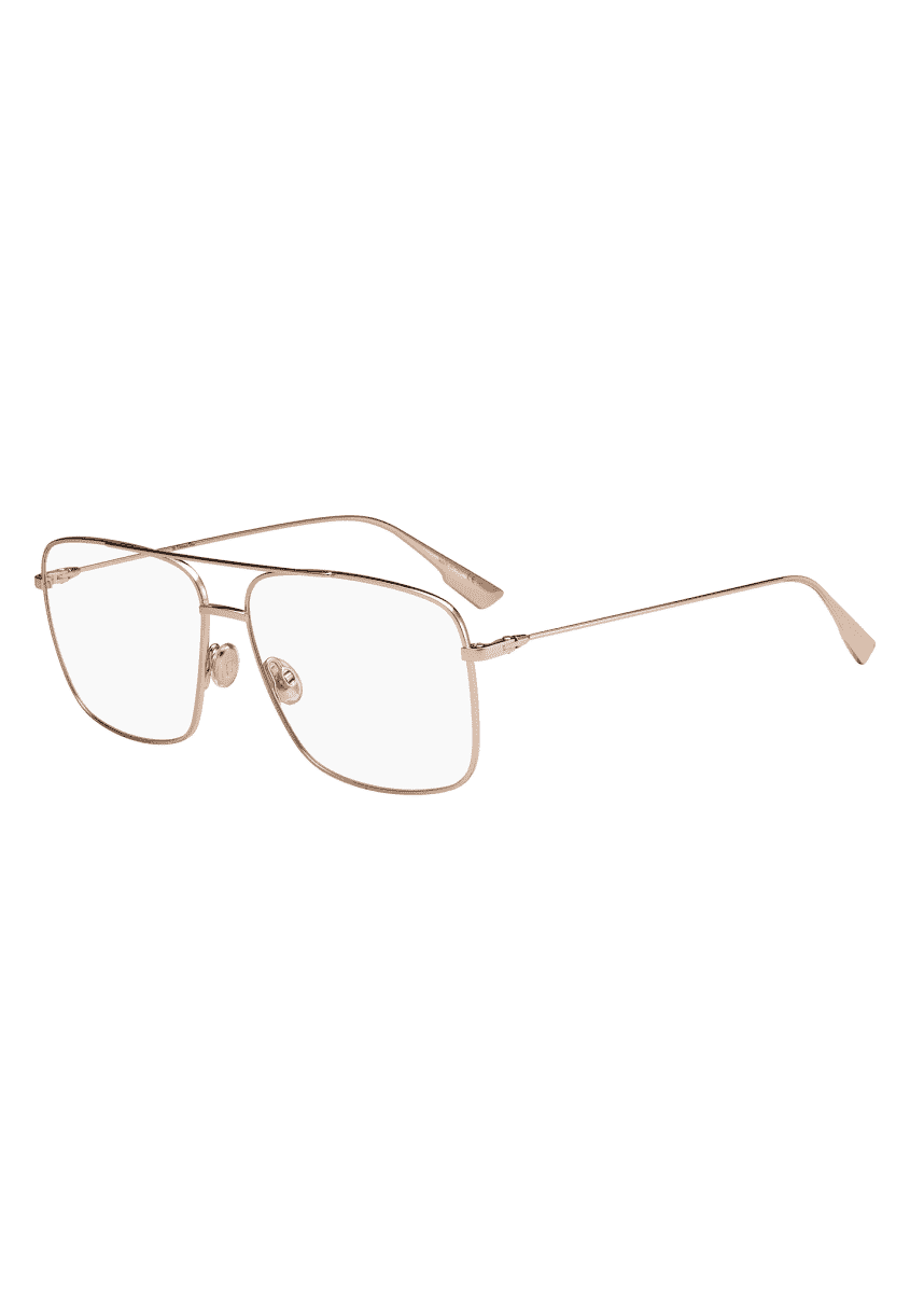 Dior Metal Aviator Optical Glasses