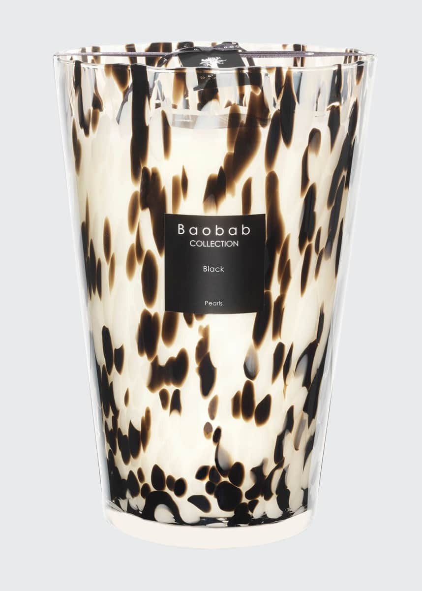 Baobab Collection Black Pearls Scented Candle, 13.8""