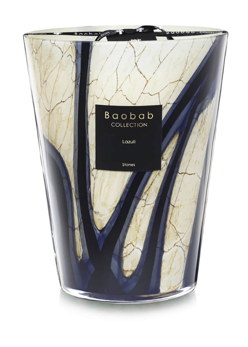 Baobab Collection Stones Lazuli Candle, 9.4""