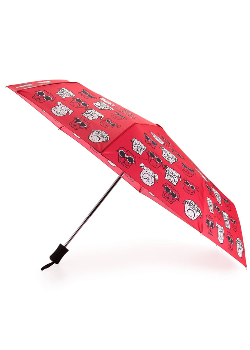Anna Coroneo Bulldogs Auto-Open Umbrella