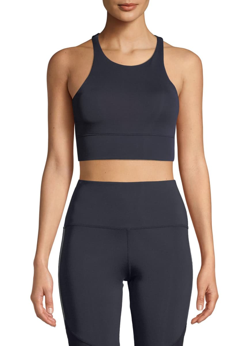 Nylora Delancy Racerback Performance Crop Top