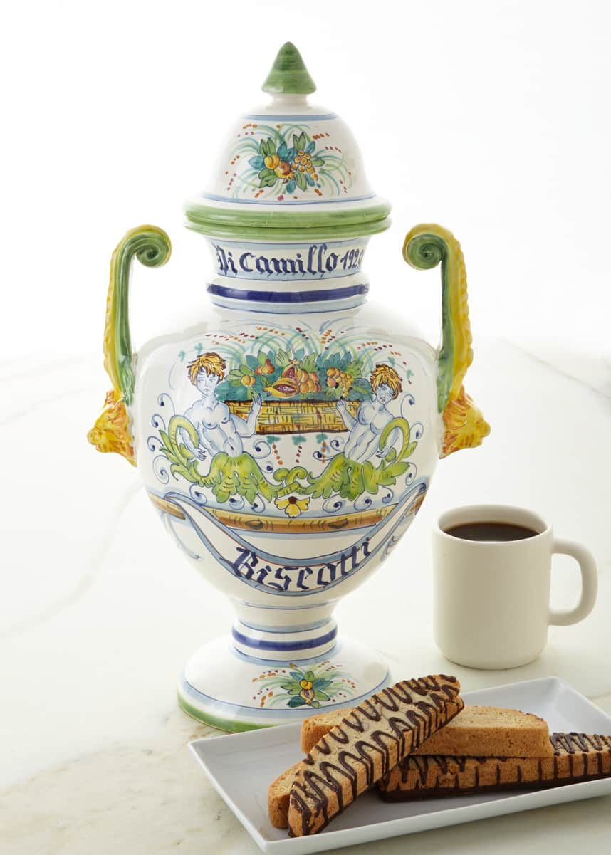 Dicamillo Baking Co Biscotti Farnese Bandiera Jar
