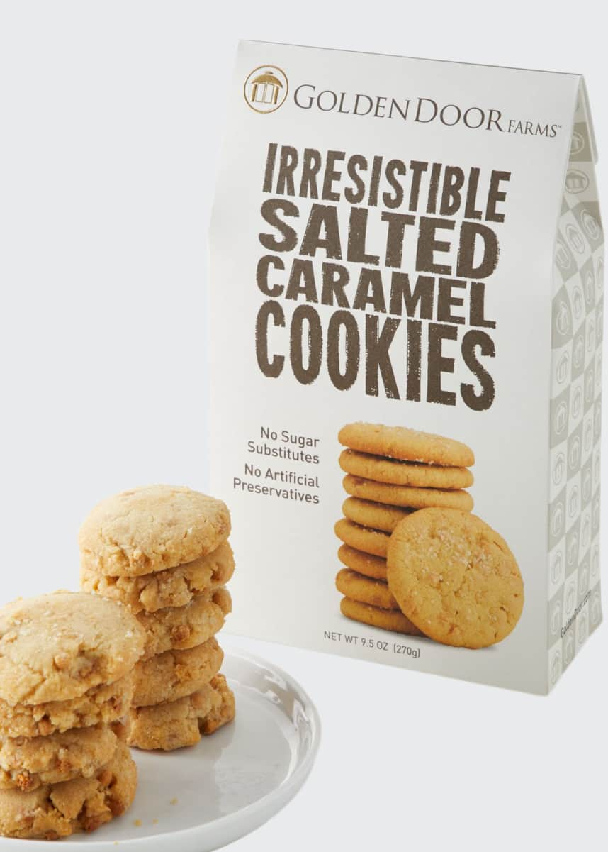 Golden Door Irresistible Salted Caramel Cookies