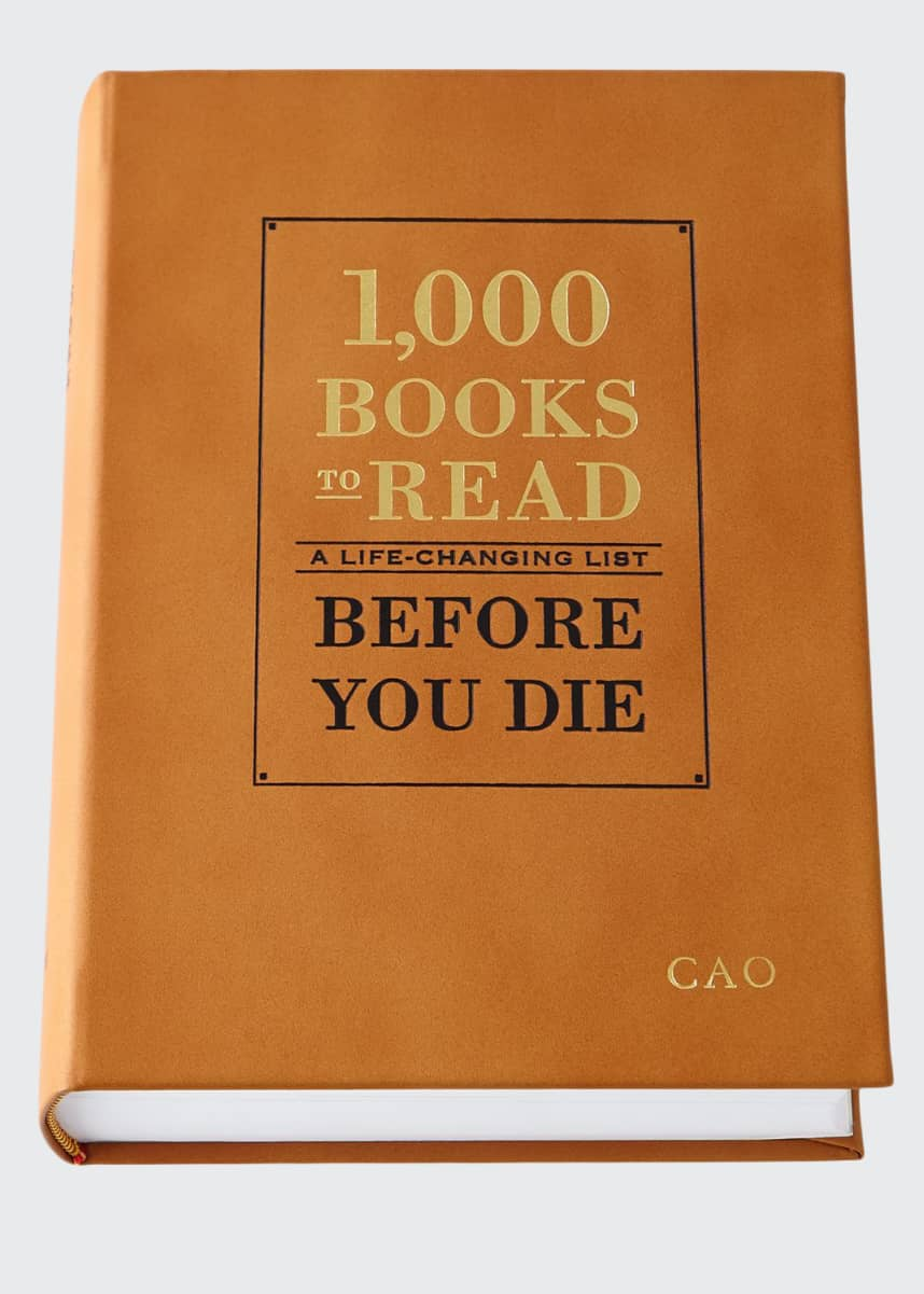 "Graphic Image Personalized ""1,000 Books to Read Before You Die"" Book"