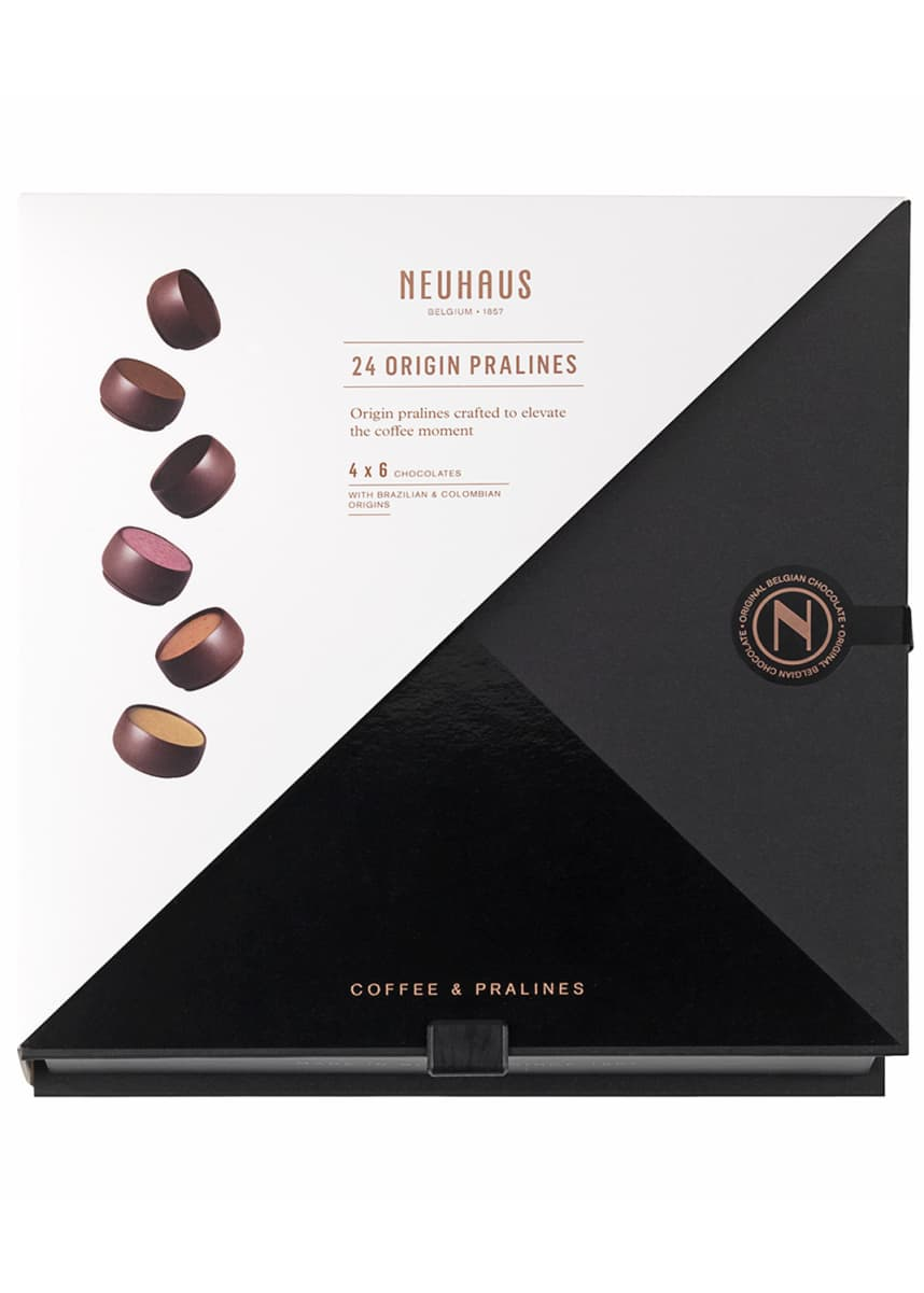 Neuhaus Chocolate New Coffee Praline Pairing Box