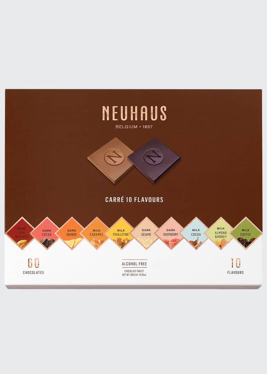 Neuhaus Chocolate 60-Piece Milk & Dark Chocolate Assortment