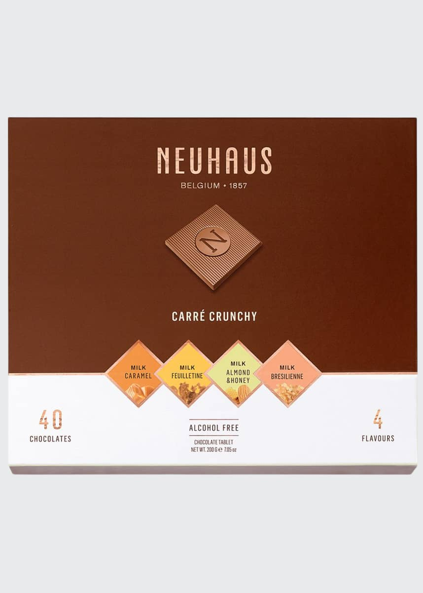 Neuhaus Chocolate 40-Piece Crunchy Milk Chocolate Box