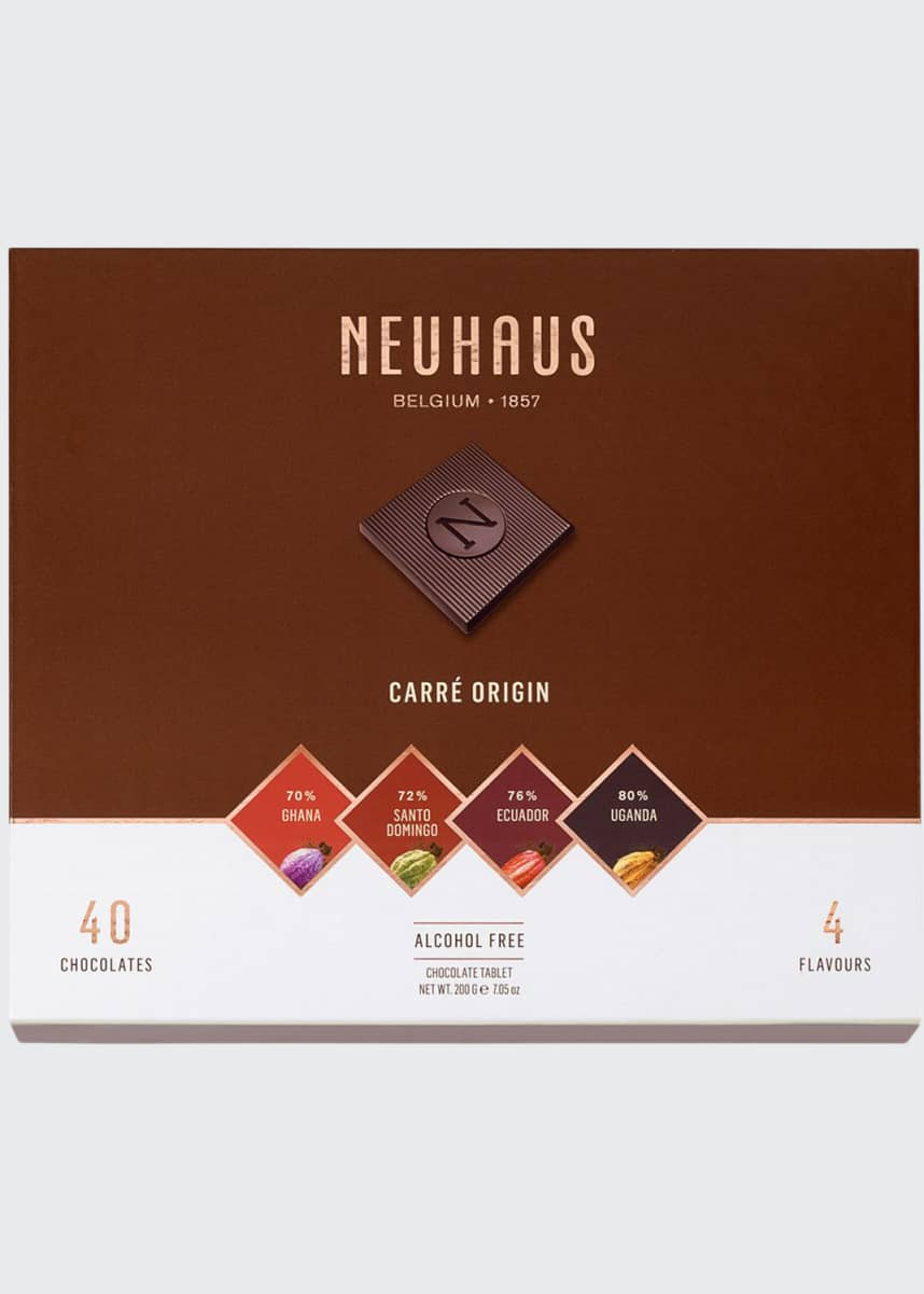 Neuhaus Chocolate 40-Piece Origin Dark Chocolate Box