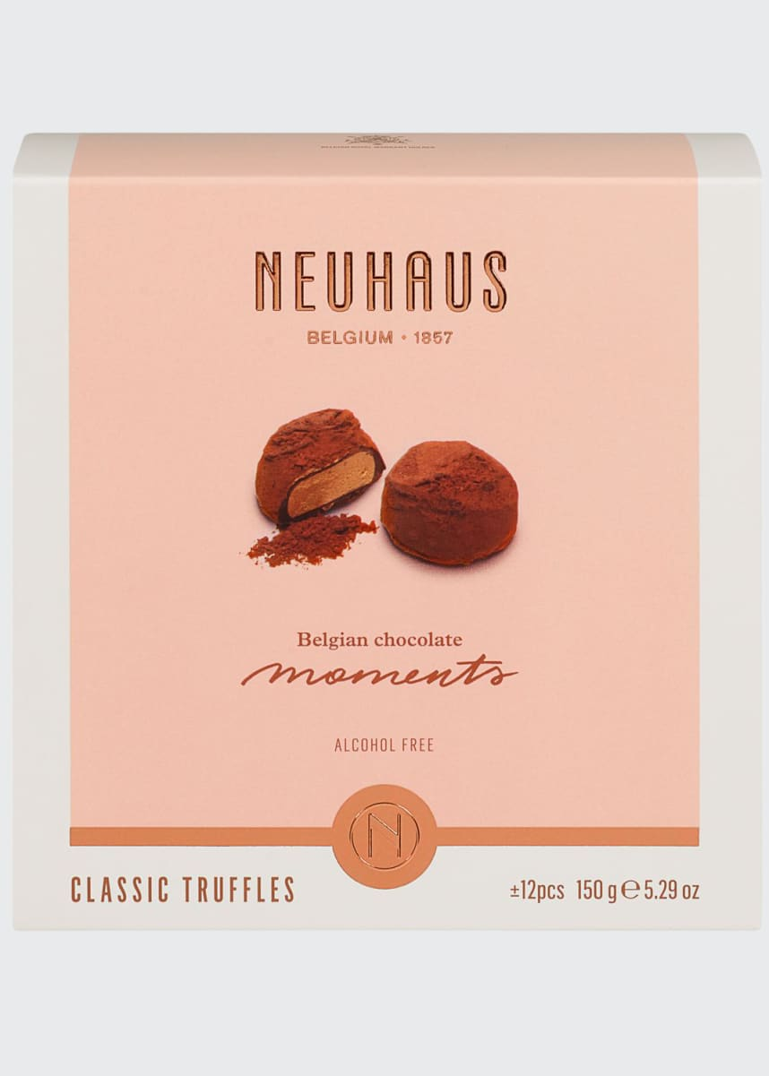 Neuhaus Chocolate 12-Piece World's Best Classic Truffles Box
