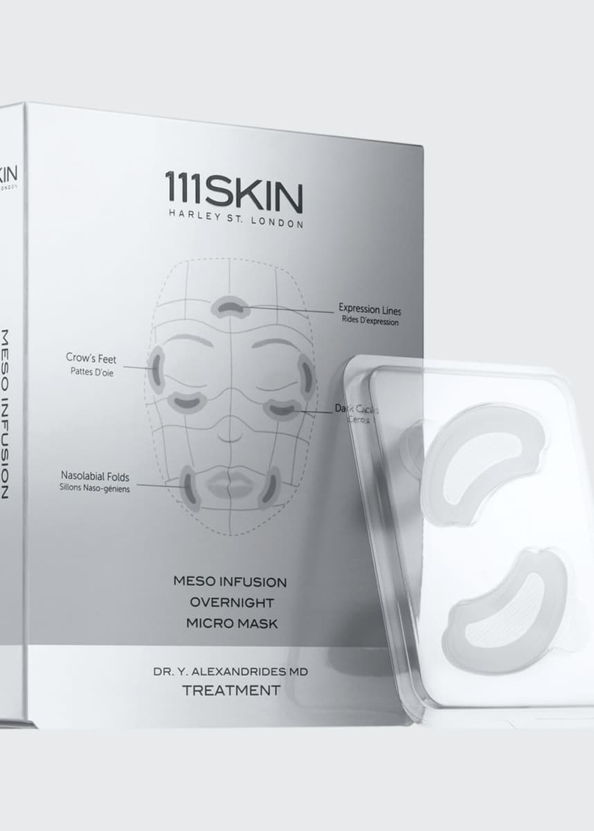 111SKIN Meso Infusion Overnight Micro Mask, Four