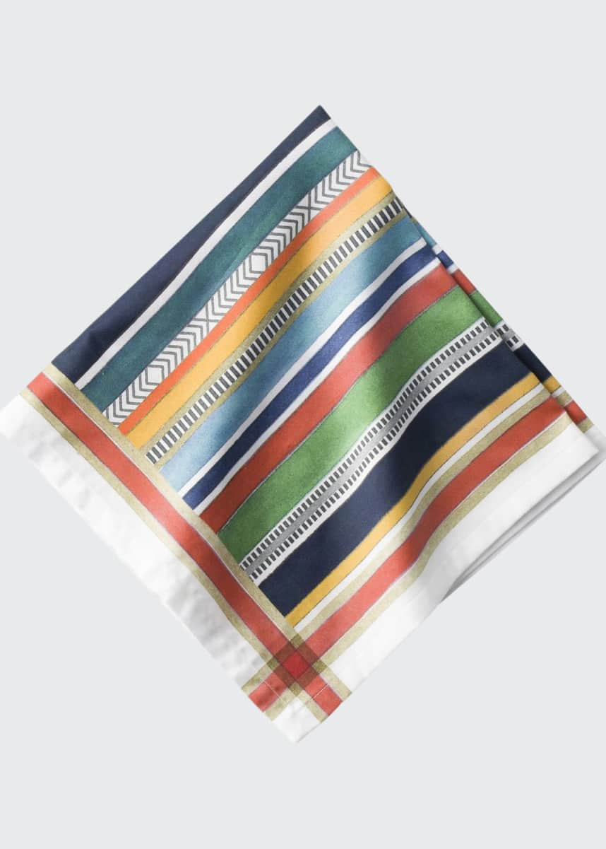 Juliska Basque Multi-Stripe Napkin