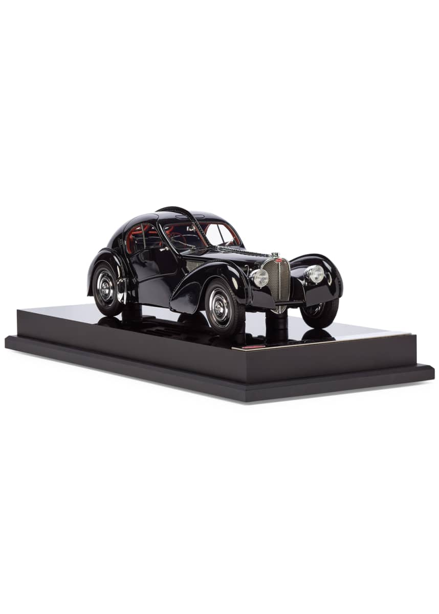 Ralph Lauren Home Ralph Lauren's 1938 Bugatti Type 57SC Atlantic Coupe Miniature Scaled Car Replica