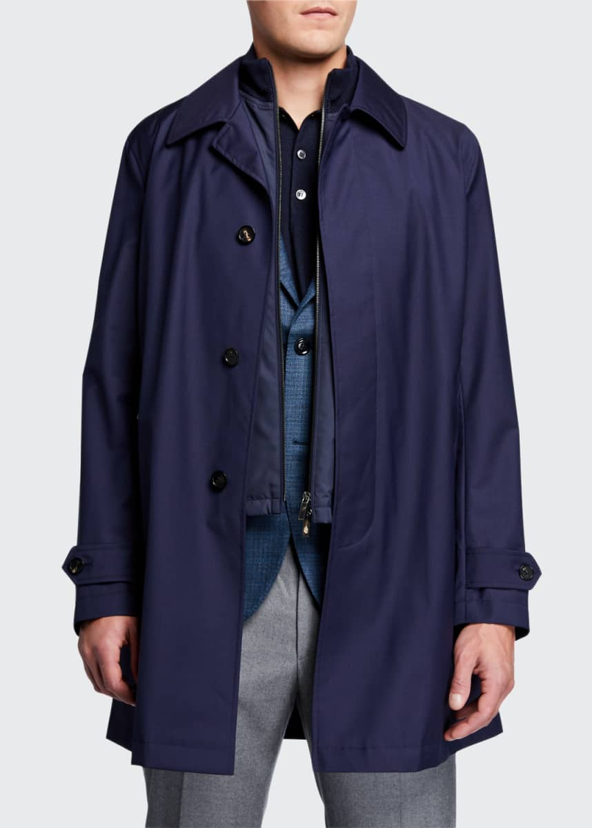 Ermenegildo Zegna Men's Achill Farm 3-in-1 Coat