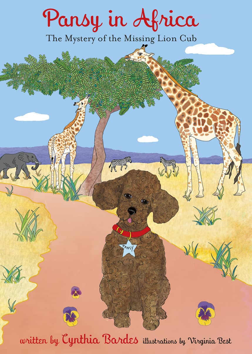 "Octobre Press ""Pansy in Africa"" Children's Book"