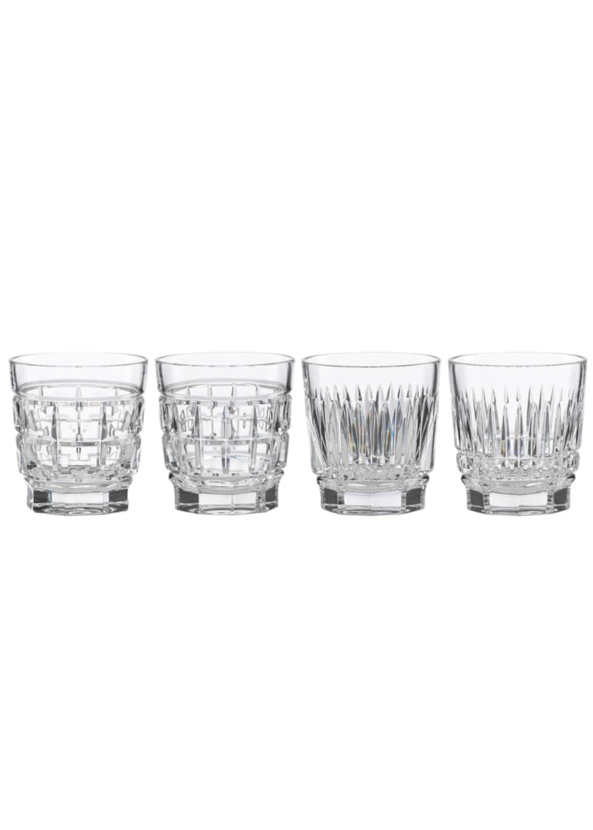 Reed & Barton New Vintage Whiskey Glasses, Set of 4
