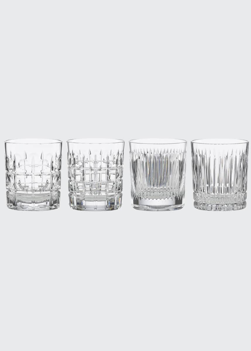 Reed & Barton New Vintage Double Old-Fashioned Glasses, Set of 4